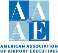 Logo for American Association of Airport Executives certification