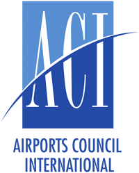 Logo for Airport Council International certification