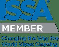 Logo for ISSA member certification