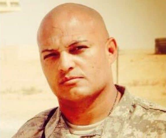 Raul Gutierrez in army uniform