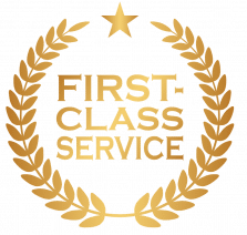 Link to learn about our first class customer service