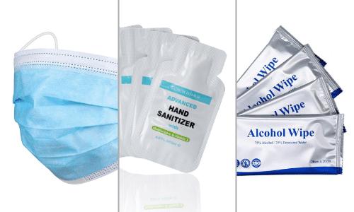 Image of basic ppe kits