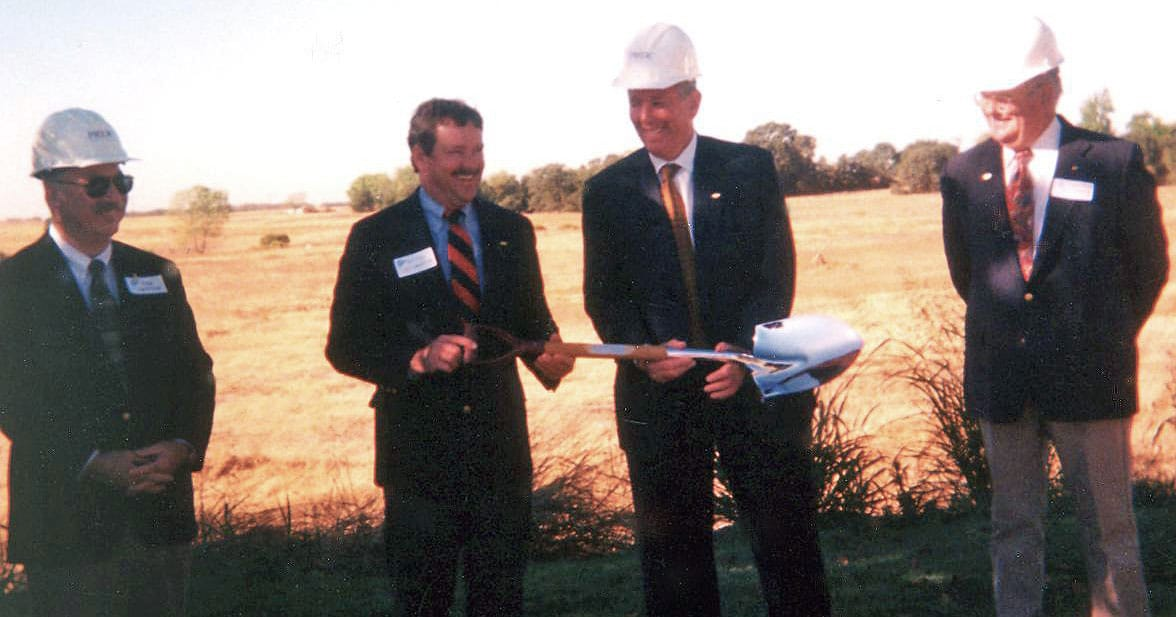 Image of the PRIDE Industries breaking ground at new campus location