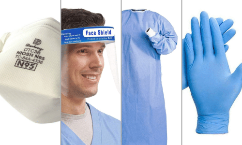 Image of Hospital and Private Practice PPE Kits