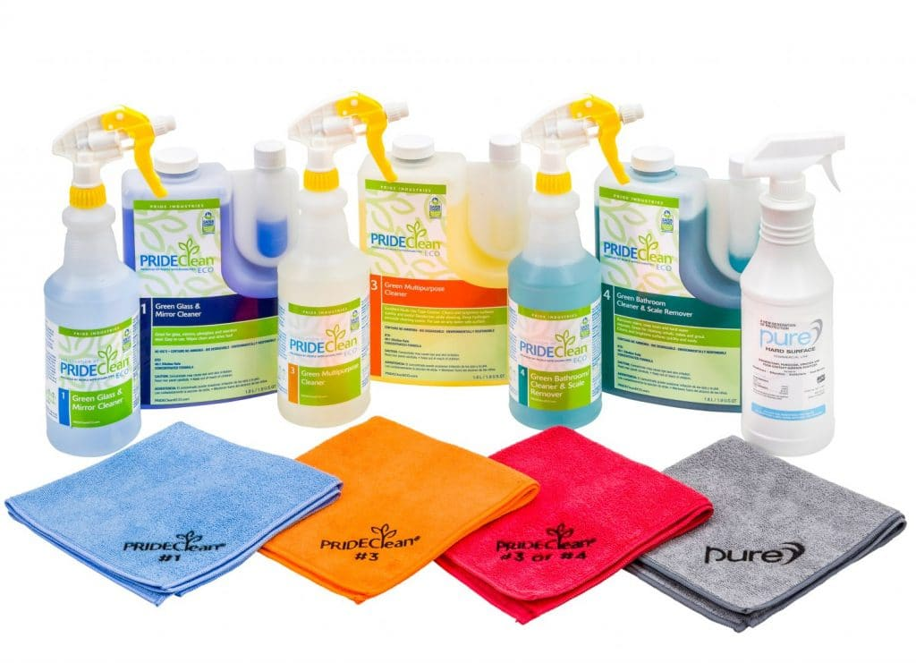 Image of PRIDE Clean products