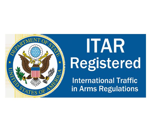 ITAR registered certification Logo