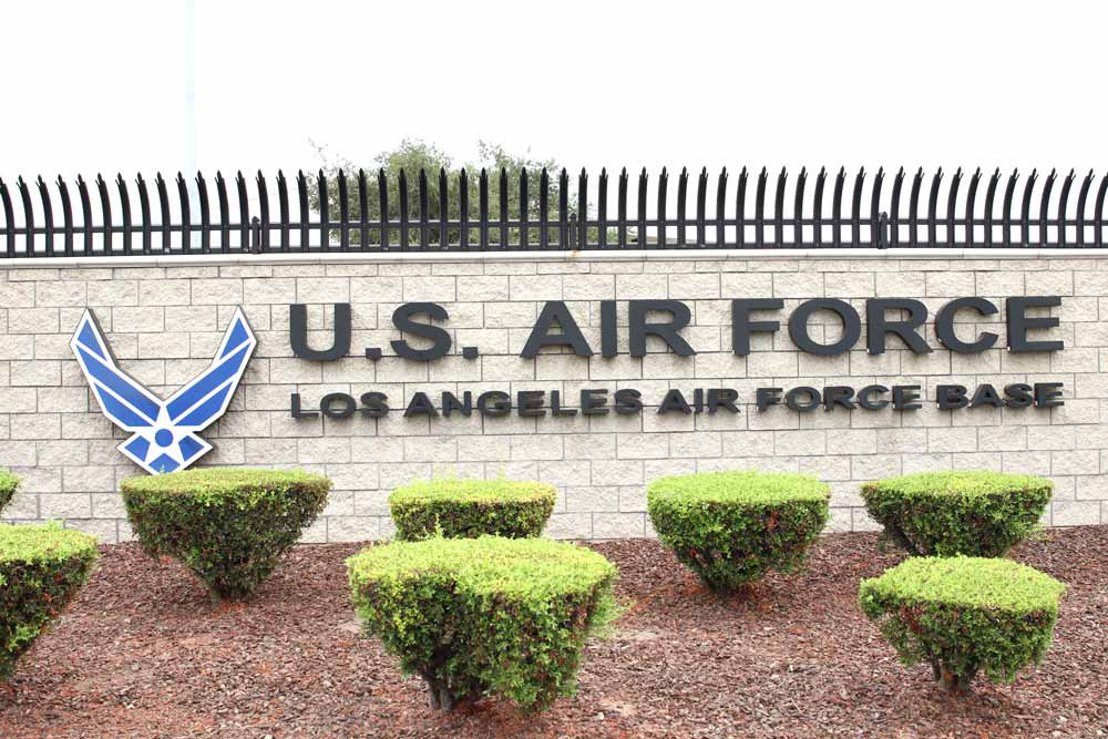 Image of Los Angeles US Air Force Base in